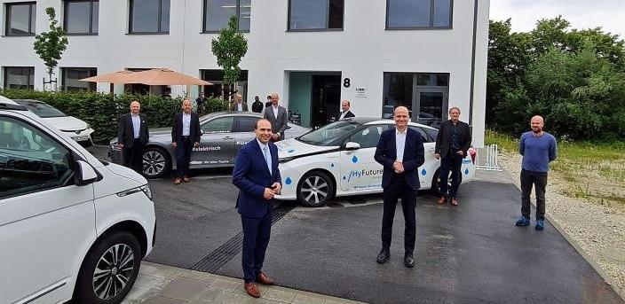 Fuel Cells Works, Hydrogen Made In The Landshut Region