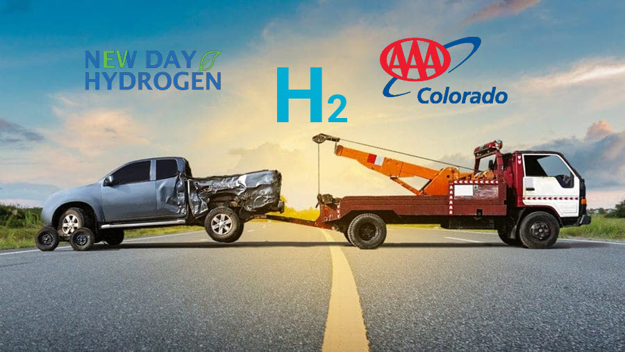 Fuel Cells Works, A New Fleet of Hydrogen-Fueled Tow Trucks is Coming to Colorado Thanks to AAA & New Day Hydrogen