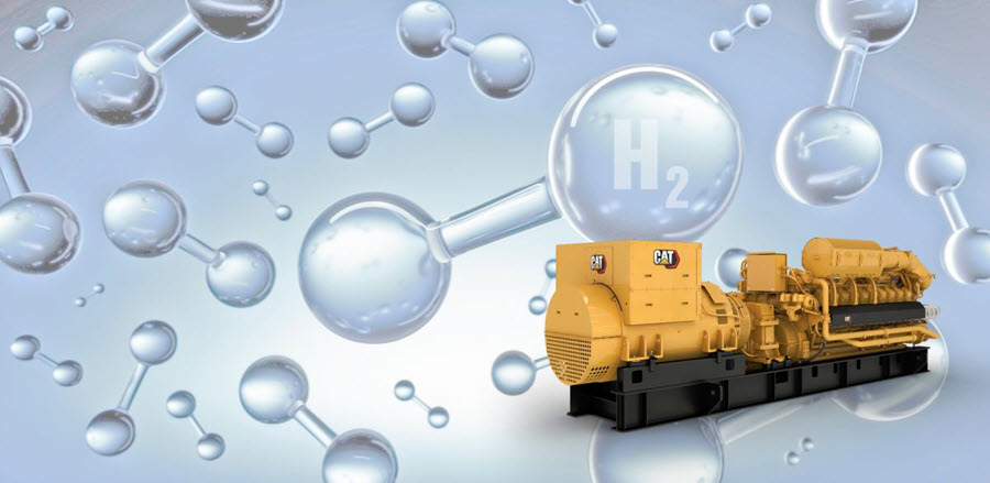 Fuel Cells Works, Caterpillar to Offer Generators that are Capable of Operating on 100% Hydrogen