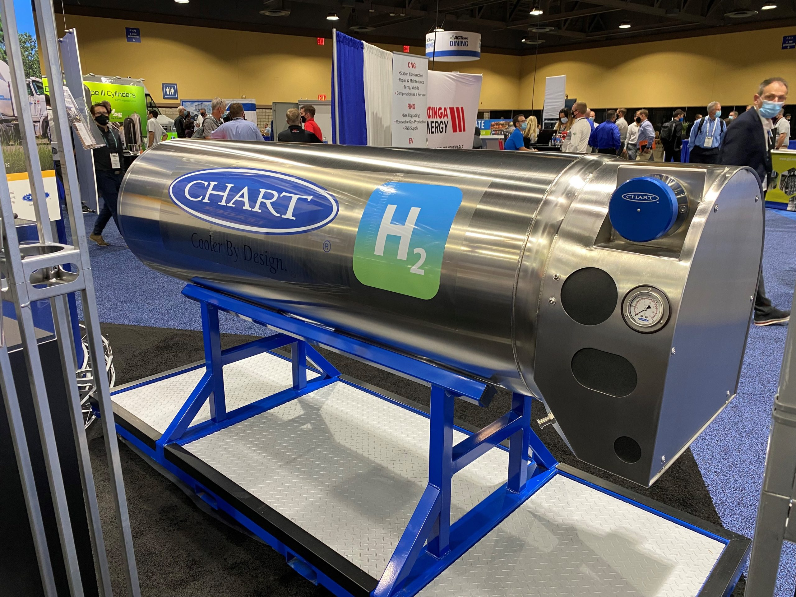 Fuel Cells Works, Chart Industries Introduces On-Board Liquid Hydrogen System