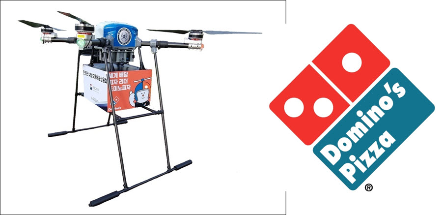 Fuel Cells Works, Domino's Pizza in South Korea Now Delivering Using Hydrogen Fuel Cell Powered Drones