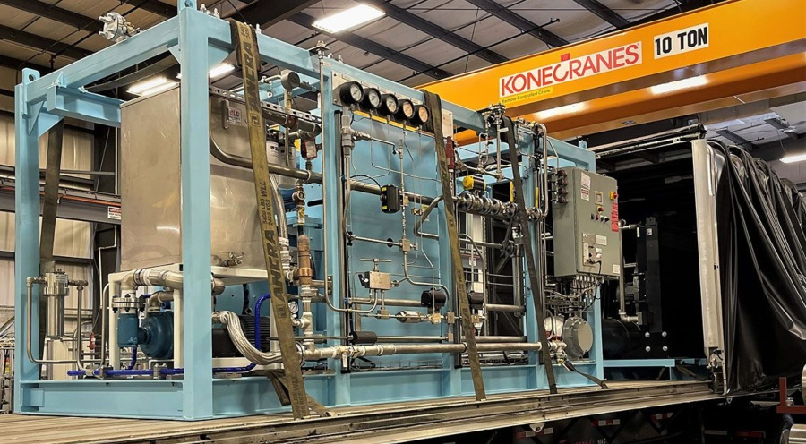 Fuel Cells Works, PDC Compressor For California Retail Station
