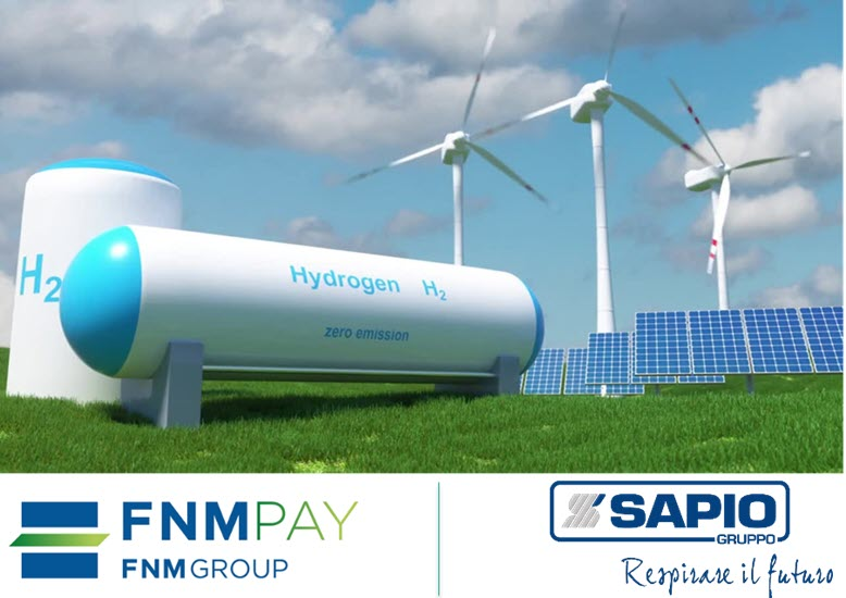 Fuel Cells Works, Italy: FNM S p A and Sapio Sign Agreement for the Development of Green Hydrogen Mobility in Lombardy