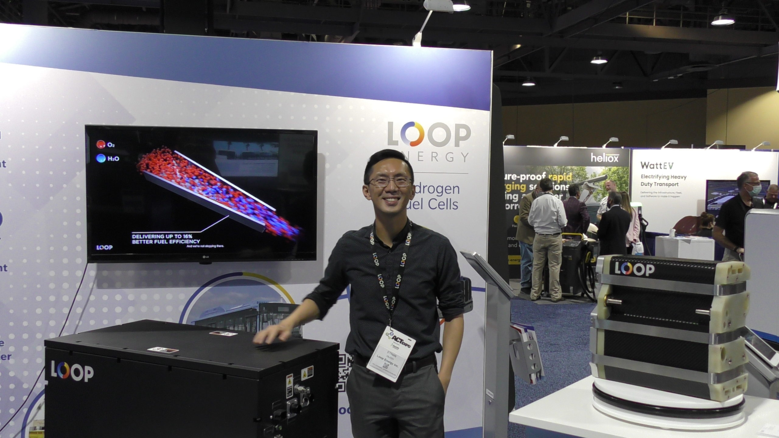 fuelcellsworks, loop energy, marketing director, ethan hugh