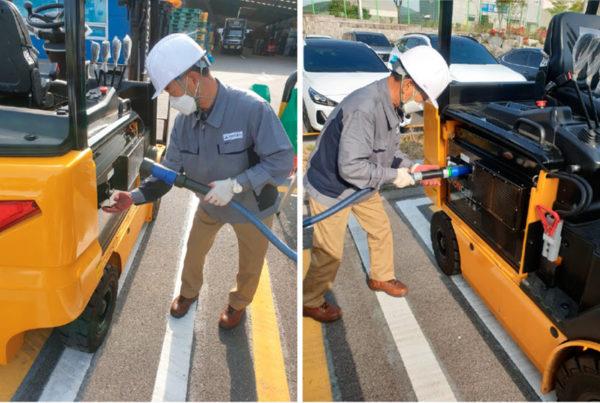 Fuel Cells Works, Update: Korean Hanyoung Technochem Mobile Hydrogen Refueling Station 6 Months Successful Testing