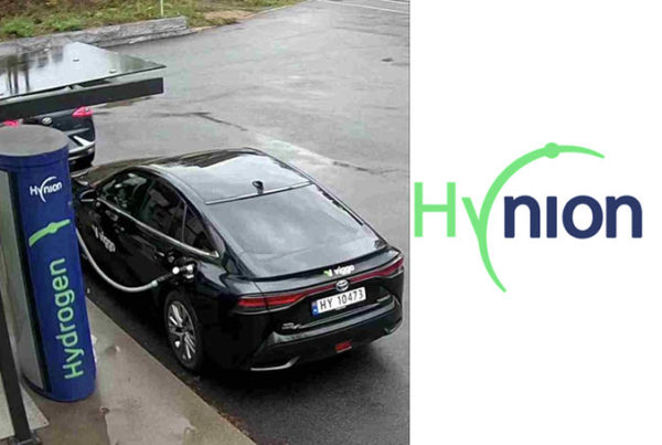 Fuel Cells Works, Hynion Supplying Viggo with Fuel for their Hydrogen Taxis in Oslo