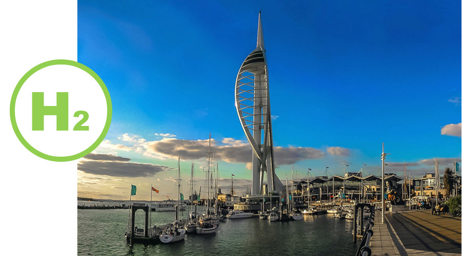 IOTICS Creating Digital Twin of Portsmouth Port for Green Hydrogen System