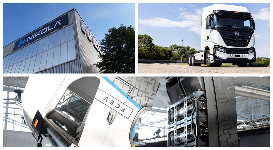 Fuel Cells Works, IVECO and Nikola Inaugurate Joint-venture Manufacturing Facility for Electric Heavy-Duty Trucks in Ulm, Germany
