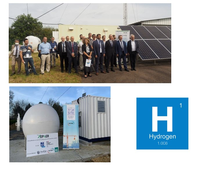 Fuel Cells Works, France: Inauguration of the SEPHER (Hydrogen + Renewable) pilot site of the Air Navigation Services Department