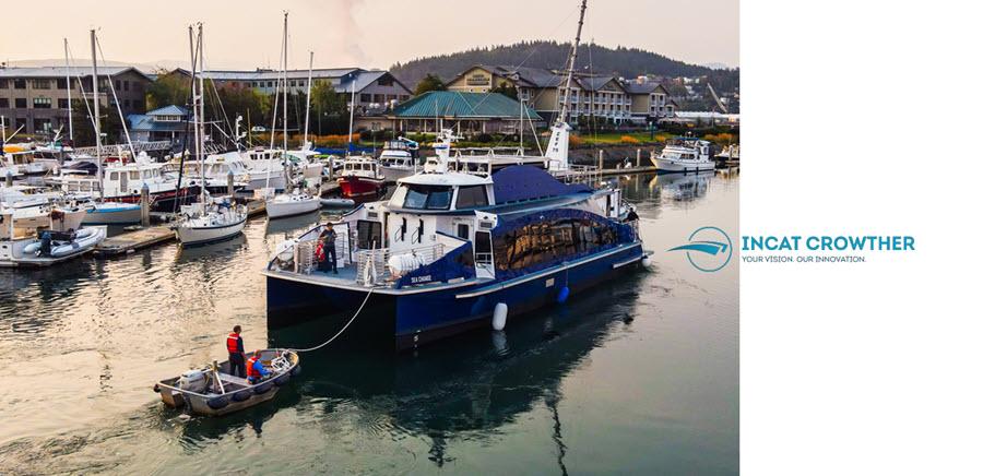 Incat Hydrogen Ferry Boat