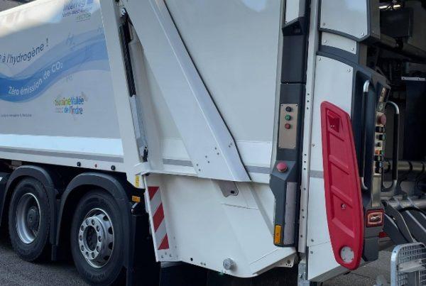 Le Mans Hydrogen Garbage Truck