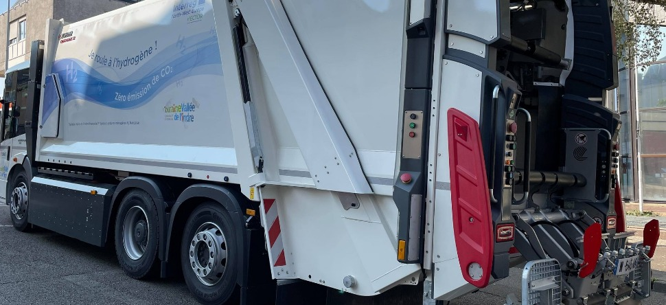 Fuel Cells Works, France: Le Mans Testing a Hydrogen Garbage Truck