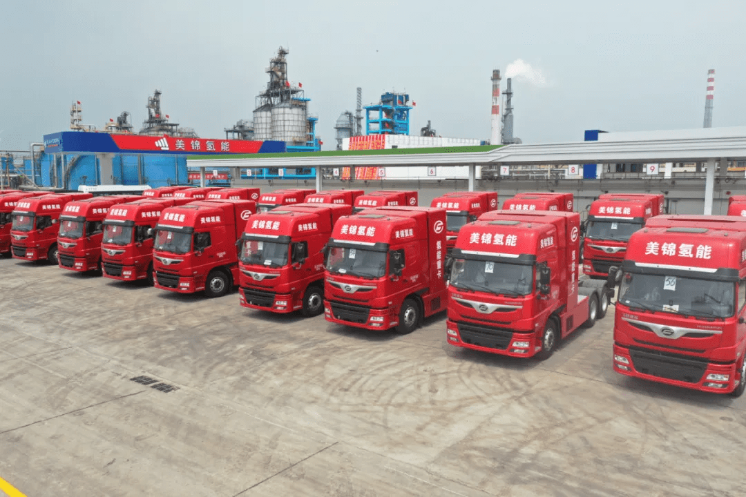 Fuel Cells Works, Meijin Energy Puts 100 Hydrogen Fuel Cell Powered Trucks into Operation