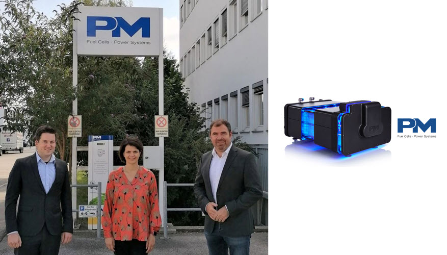 Fuel Cells Works, Members of the CDU/CSU Parliamentary Group visited Proton Motor