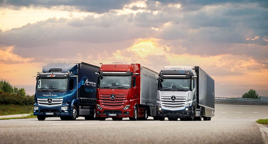 """Fuel Cells Works, Efficiently and Sustainably into the Future: At """"Shaping the Now and Next"""", Mercedes-Benz Trucks will be Presenting EV & Hydrogen Fuel Cell Solutions for Road Haulage"""