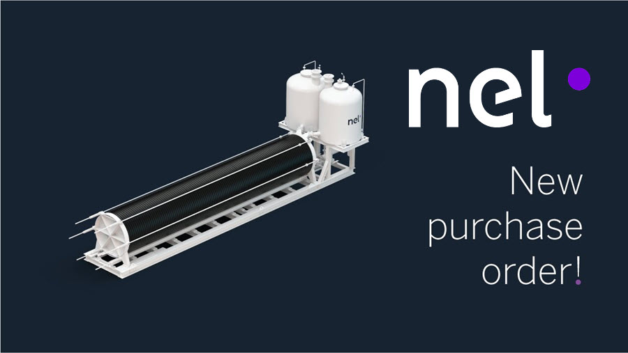 Fuel Cells Works, Nel ASA Receives Purchase Order for 5MW Alkaline Electrolyser