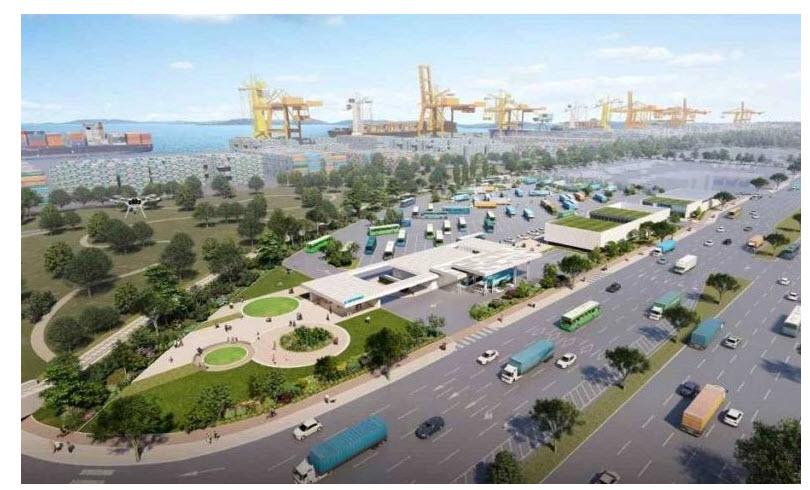 Fuel Cells Works, Korea's SK Group to Build South Korea's Hydrogen Port