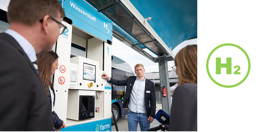 Fuel Cells Works, Friday Throwback Story: Green Hydrogen Station Officially Goes into Service in Niebull