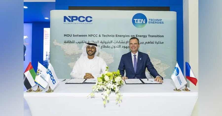 Technip Energies Partners with NPCC to Advance Blue and Green Hydrogen