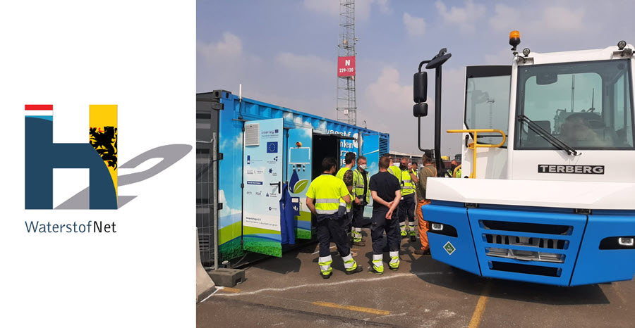 Fuel Cells Works, Belgium – VIL and WaterstofNet Present Hydrolog Results, Hydrogen for Logistics Transport