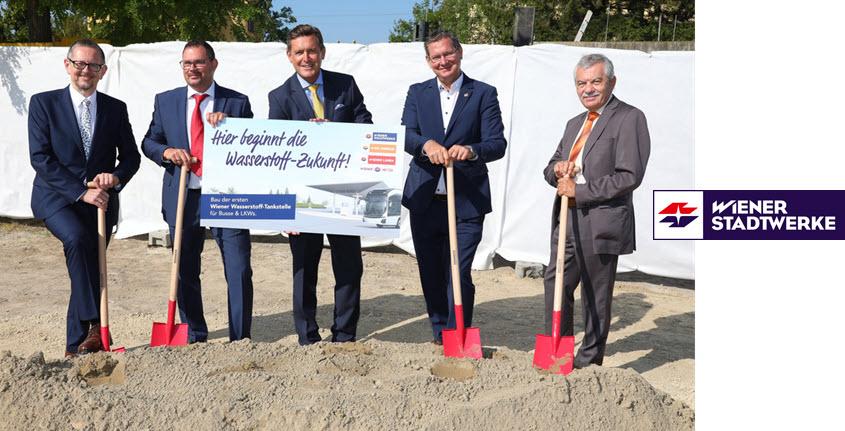 Wiener Stadtwerke Breaks Ground for Companys First Hydrogen Station