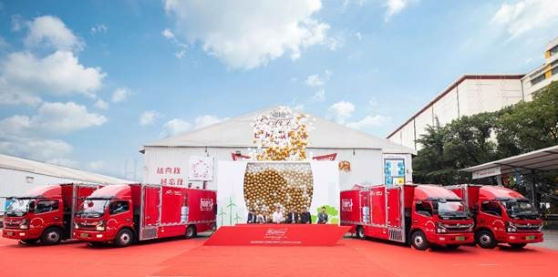Fuel Cells Works, Friday Fallback Story: Budweiser China Deploys Hydrogen FCV Trucks And Unlocked New Episode Of Green Logistics