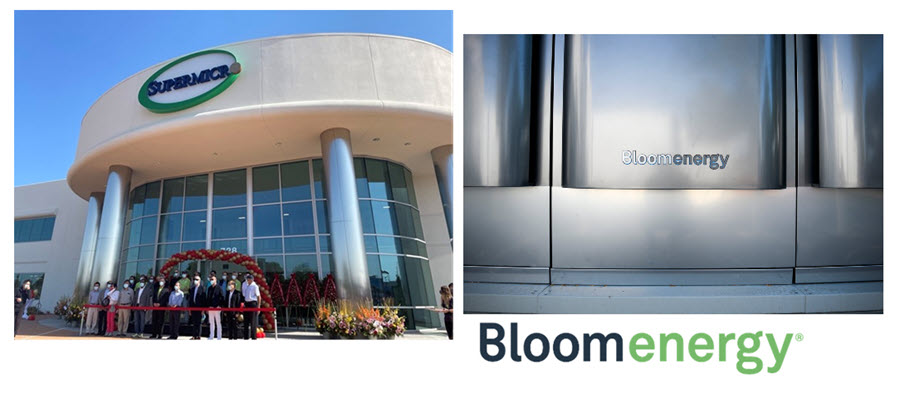 Fuel Cells Works, Supermicro Opens New Facility Equipped with New Fuel Cell Servers from Bloom Energy