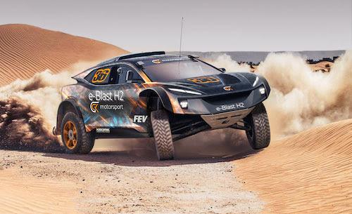 Fuel Cells Works, GCK Reveals Update On 2024 Hydrogen-Powered Dakar Vehicle