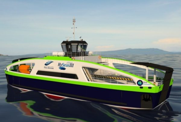 Fuel Cells Works, First Renderings Completed for Hydrogen-Powered Vessel