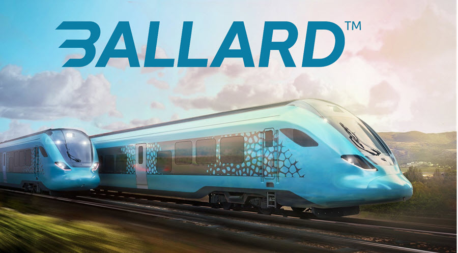 Fuel Cells Works, Ballard to Power Talgo Fuel Cell Passenger Train in European Trial, Ahead of Planned 2023 Launch