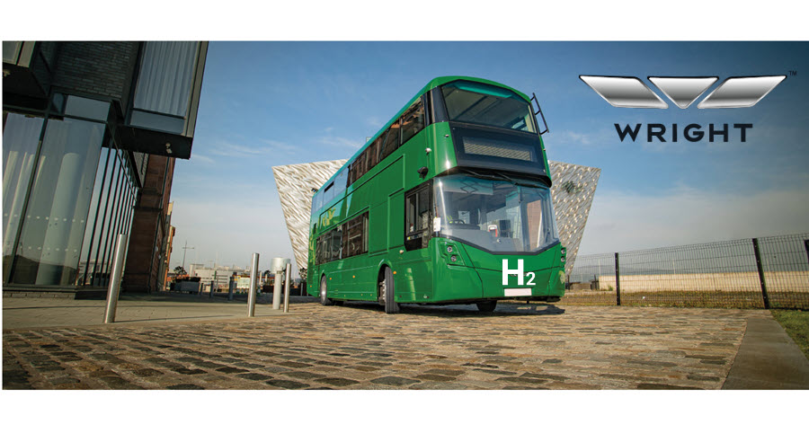 Fuel Cells Works, Bamber Bridge Will Host the World's First Hydrogen-Powered Double-Decker Bus on Its Way to Glasgow's Climate Conference