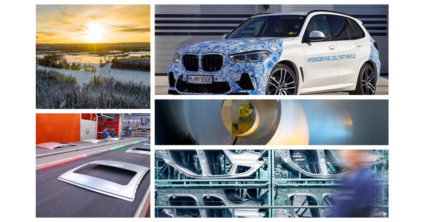 Fuel Cells Works, BMW Group Plans to Source Steel Produced With Green Power and Hydrogen From Northern Sweden