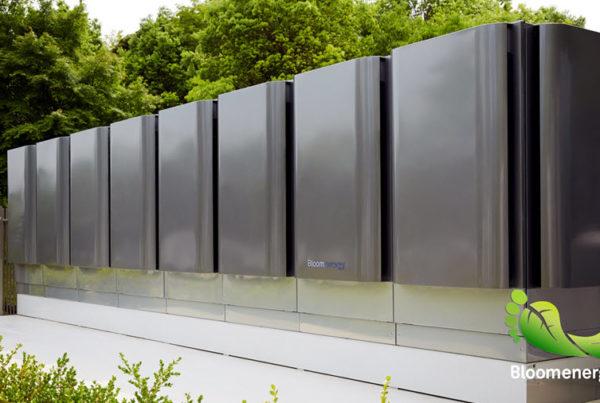 Bloom Energy Fuel Cell Micro Grid Reducing Carbon Footprint