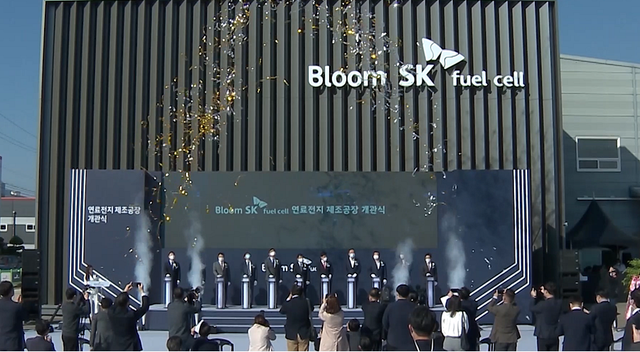 Bloom Energy and SK ecoplant