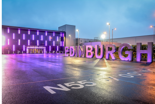 Edinburgh Airport and Orsted