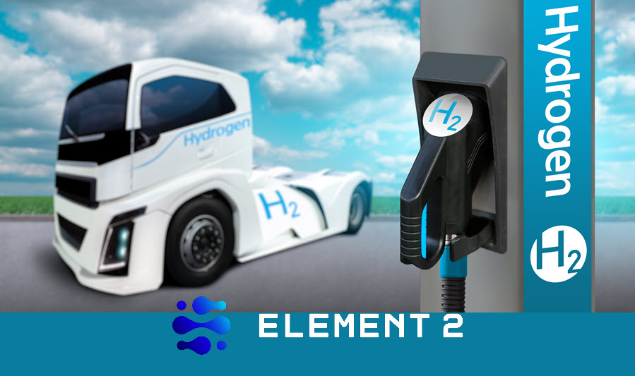 Fuel Cells Works, Element 2 Awarded Contract to Supply Sustainable Hydrogen to the Tees Valley Hydrogen Transports Hub's Trials