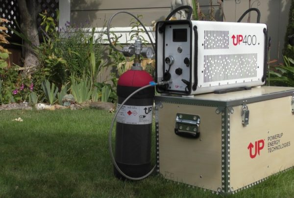 Fuel Cells Works, PowerUP Energy Technologies UP400, Zero Emissions Without Compromise