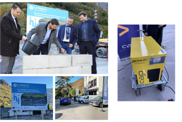 France Foundation Stone Laid for First Hydrogen Station for Ville de Moutiers ge 18