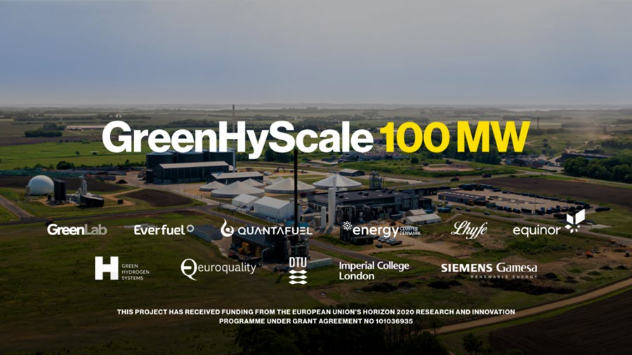 GreenHyScale Project GreenHydrogen