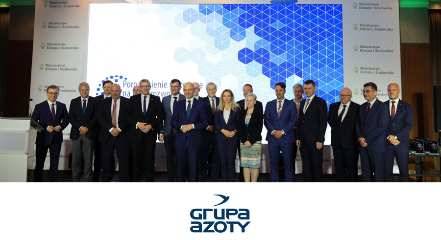 Fuel Cells Works, Poland: Grupa Azoty Signs Sectoral Agreement to Build Hydrogen Economy