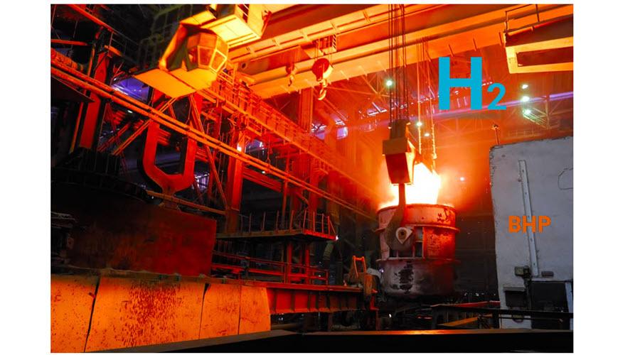 H2 Steel Making BHP