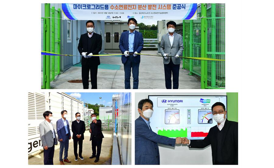 Fuel Cells Works, Hyundai Motors, Kia & Doosan Start Full-Scale Demonstration F Hydrogen Fuel Cell Power Generation System
