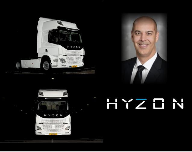 Hyzon Motors Appointment