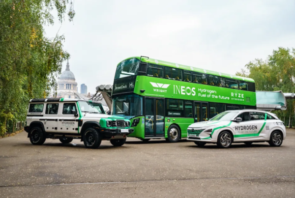INOVYN at Runcorn to Ramp Up Hydrogen Supply to Fuel Trucks Buses and Power Generator Sectors