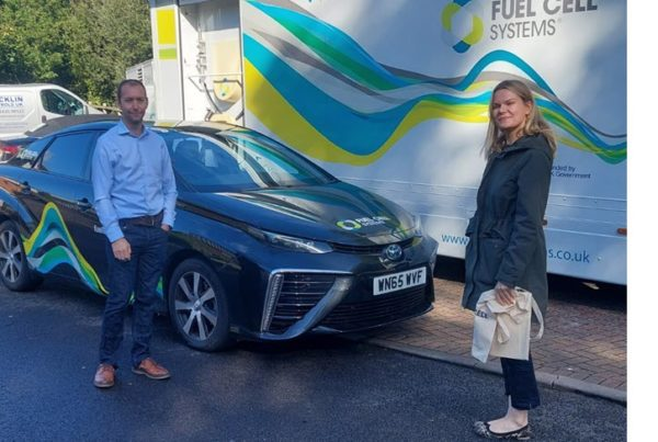 Fuel Cells Works, Laura Farris MP Visits Fuel Cell Systems Ltd to Discuss Hydrogen and Fuel Cell Technology in West Berkshire