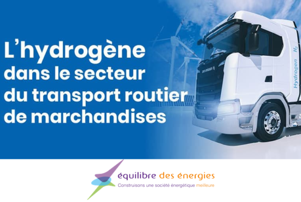 More than 100000 hydrogen trucks in France by 2050