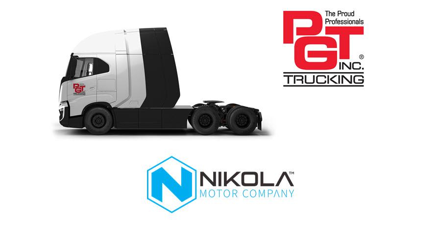 Fuel Cells Works, Nikola and PGT Trucking Sign Agreement for 100 Nikola Hydrogen Fuel Cell Electric (FCEV) Trucks