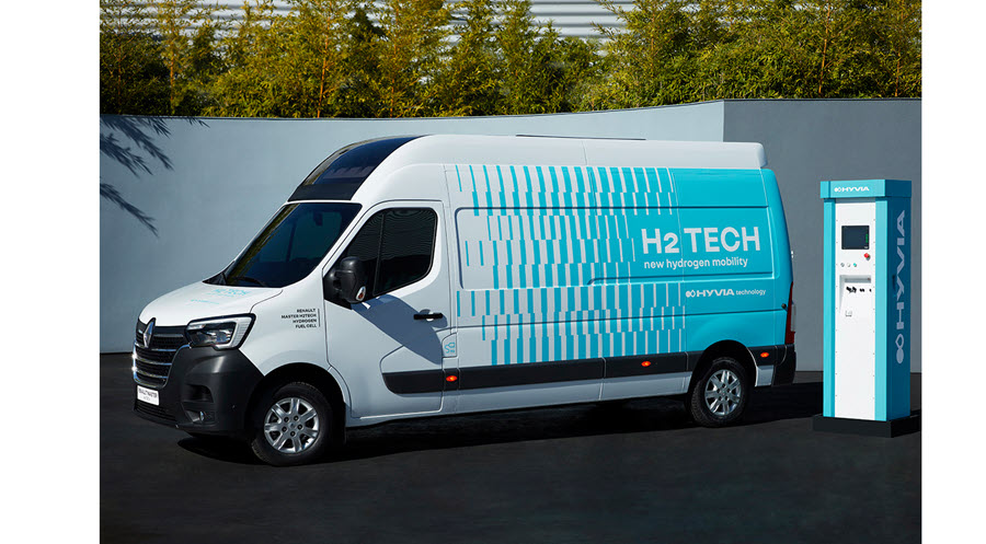 Fuel Cells Works, Hyvia Unveils its First Prototype of the Renault Master Van H2-Tech (With Video)
