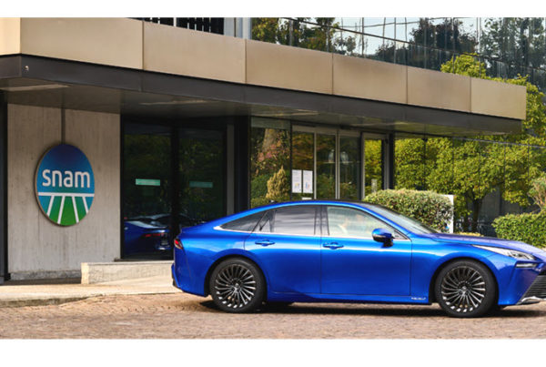 Snam Toyota and Caetanobus Together to Accelerate the Development of Hydrogen Mobility
