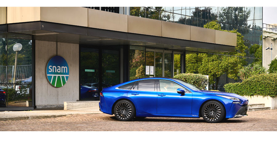Fuel Cells Works, Snam, Toyota and Caetanobus Together to Accelerate the Development of Hydrogen Mobility